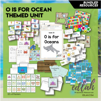 O is for Oceans Themed Unit-Preschool Lesson Plans and Activities (one week)