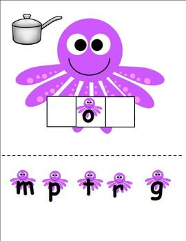 O is for Octopus (Letter O Unit)