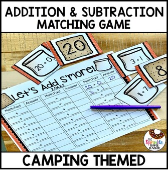 OA.B.2 Let's Add & Subtract S'more Addition & Subtraction Facts