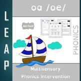 OA - Long Vowel O - No Prep Phonics