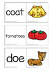 Long Vowel Teams: OA & OE Self-Correcting Puzzles