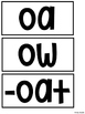 OA OW Pocket Chart Centers and Materials