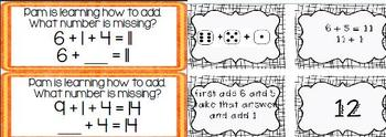 OA Operations and Algebraic Thinking Common Core Aligned Math Centers