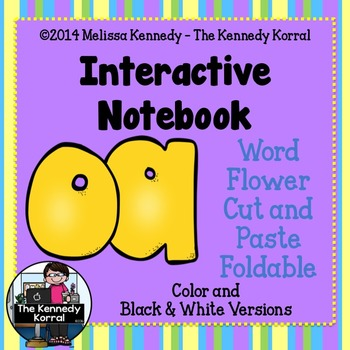 Digraphs: Long O - OA {Center, IN Foldable}