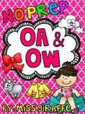 OA OW Worksheets & Activities {NO PREP!}