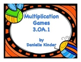 OA.1 Multiplication Centers and Games