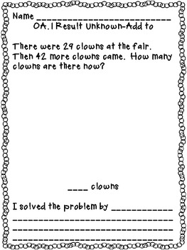 OA.1 Word Problems