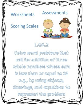 OA.2 Worksheets, Assessments and Scales