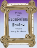 OAA Ohio Achievement Test Vocabulary Review - 5th Science