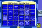 OAA Reading Vocabulary Test Terms Matching Game for the Activeboard