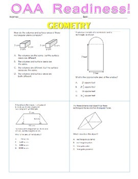 OAA Review Geometry