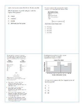 OAA Review Graphs & Central Tendency