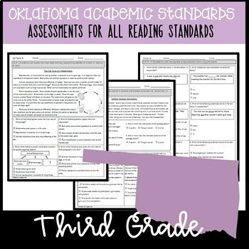 OAS 3rd Grade School License ELA Assessments