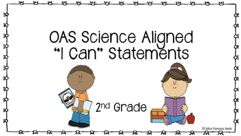 OAS Aligned Science I Can Statements