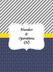 OAS Math Cover Pages 6th Grade Math