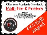 OAS Pre-K Math Content Standard Posters