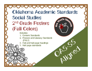 OAS-Social Studies Grade 2 Content Standard Posters (Fall Theme)