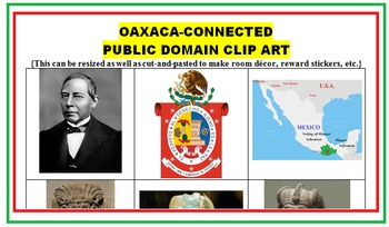 OAXACA AND MONTE ALBAN (FREE, READING, CCSS, ESL)