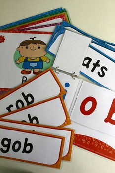 'OB WORD FAMILY' Phonics Lesson Package