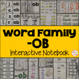 OB Word Family Interactive Notebook