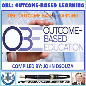OBL: OUTCOME-BASED LEARNING