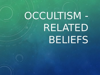 OCCULTISM - Interactive Questions