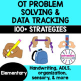 OCCUPATIONAL THERAPY RTI MTSS Checklist Data Collection over 100 strategies