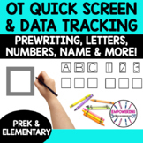 OCCUPATIONAL THERAPY Screening Data tracking and assessmen