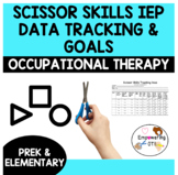 OCCUPATIONAL THERAPY Scissor skills, data tracking + corresponding goals!