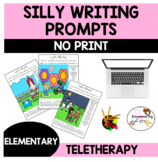 OCCUPATIONAL THERAPY TELETHERAPY NO PRINT SILLY Writing pr