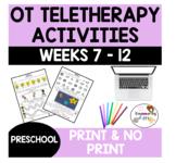 OCCUPATIONAL THERAPY Teletherapy PRESCHOOL **SET 2** OT Di
