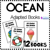 OCEAN/BEACH Adapted Books (sped/autism/elementary/middle)