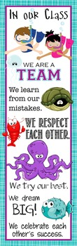 OCEAN - Classroom Decor: X-LARGE BANNER, In Our Class...
