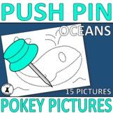 OCEAN LIFE   SEA UNIT Push Pin Pokey Pictures