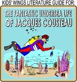 3 NONFICTION OCEAN PICTURE BOOKS! Jacques Cousteau! Down Down Down! Coral Reefs!