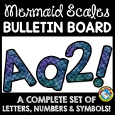 OCEAN THEME CLASSROOM DECOR BULLETIN BOARD LETTERS PRINTABLE, NUMBERS, ETC