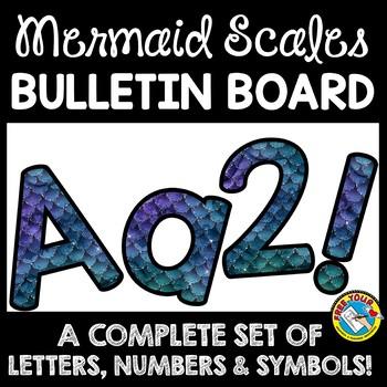 OCEAN THEME CLASSROOM DECOR BULLETIN BOARD LETTERS PRINTABLE, NUMBERS, ETC