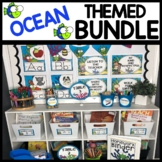 OCEAN THEMED Classroom Decor Printables BUNDLE