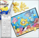 OCEAN Spatial Concepts TIC TAC TOE snack mats Speech Therapy GAME BOARDS