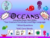 AAC Core Vocabulary FIND WHAT THAT MORE Interactive PowerP