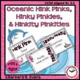OCEANIC HINK PINKS, et al. PUZZLES Word Riddles Task Cards
