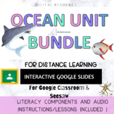 OCEANS SCIENCE UNIT BUNDLE// OCEAN ZONES & FOOD CHAIN// PR
