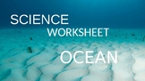 OCEANS WORKSHEET