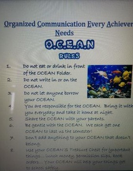 OCEAN/WATER Theme
