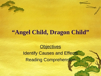 OCR Grade 3 Angel Child, Dragon Child Cause and Effect