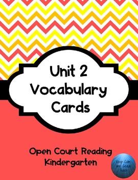 OCR Unit 2 Vocabulary Cards