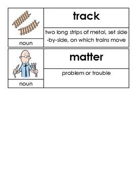 OCR Unit 4 Vocabulary Cards