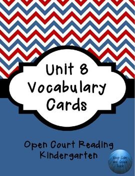 OCR Unit 8 Vocabulary Cards