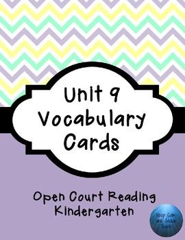 OCR Unit 9 Vocabulary Cards