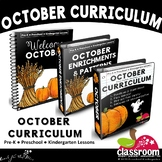 OCTOBER CURRICULUM FOR PRESCHOOL PREK KINDERGARTEN - S1